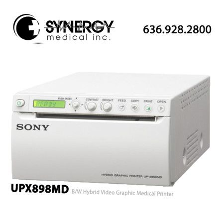 Sony UPX898MD B/W Hybrid Video Graphic Medical Printer