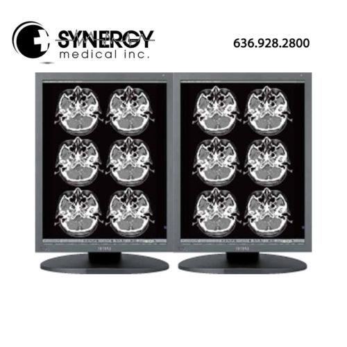 JVC/Totoku 2MP MS25i2 Dual Head Grayscale Diagnostic Monitor