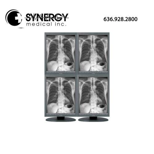 JVC/Totoku 3MP MS35i2 Quad Head Grayscale Diagnostic Monitors
