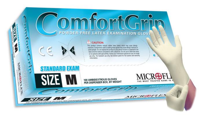 Microflex ComfortGrip CFG-900 powder free latex exam glove