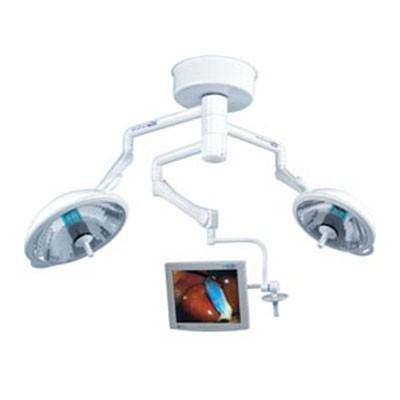Bovie System II Trio Surgery Lights w/ Monitor Arm