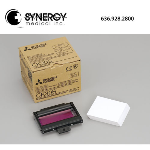 Mitsubishi CK-30S Paper and Ink Cartridge