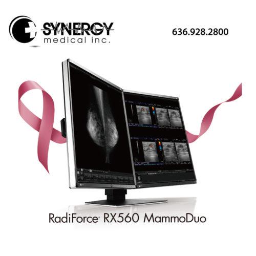 """EIZO RADIFORCE RX560 21"""" 5MP Mammo Duo Diagnostic Monitor"""