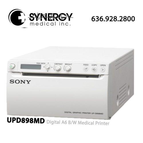 Sony UPD898MD Digital A6 B/W Medical Printer - Refurbished